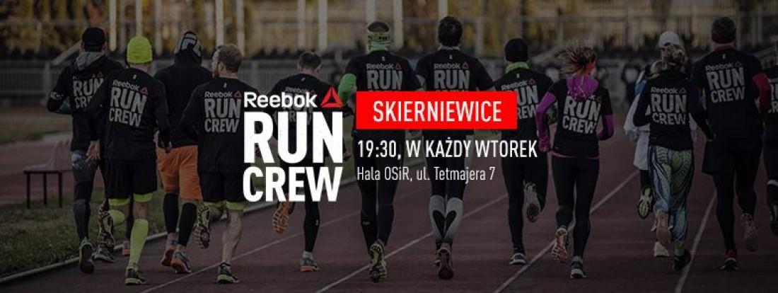 100% wysokiej jakości nieźle najwyższa jakość Reebok RUN CREW - trenuj przez bieganie w Skierniewicach
